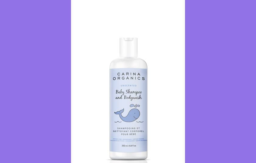Carina Organics Baby Shampoo and Body Wash