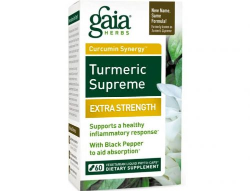 Supplement Highlight: Gaia Turmeric Supreme