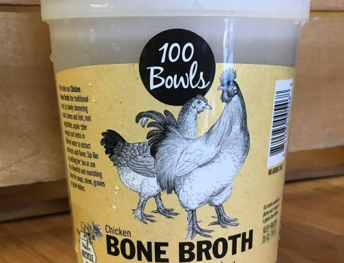 Grocery Highlight: 100 Bowls Bone Broth