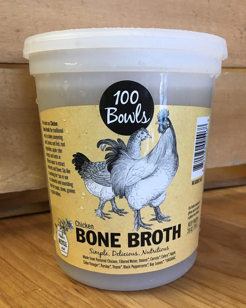 100 Bowls Bone Broth
