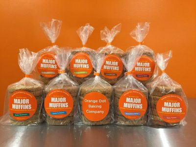 Orange Dot Baking Company Major Muffins