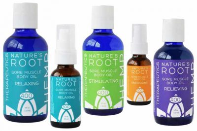 Nature's Root Sore Muscle Body Oils