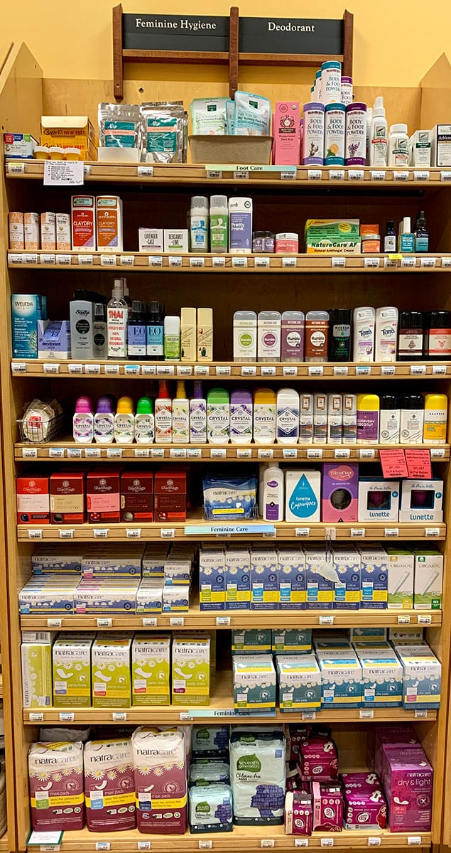 Deodorant & Feminine Hygiene